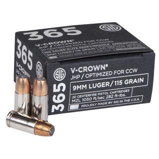 Sig Sauer SIG 365 V CROWN 9MM 115GR