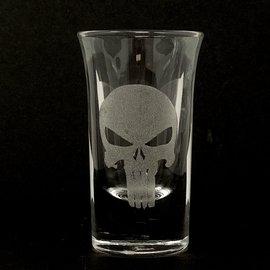 Sarasota Laser Engraving Punisher Shot Glass