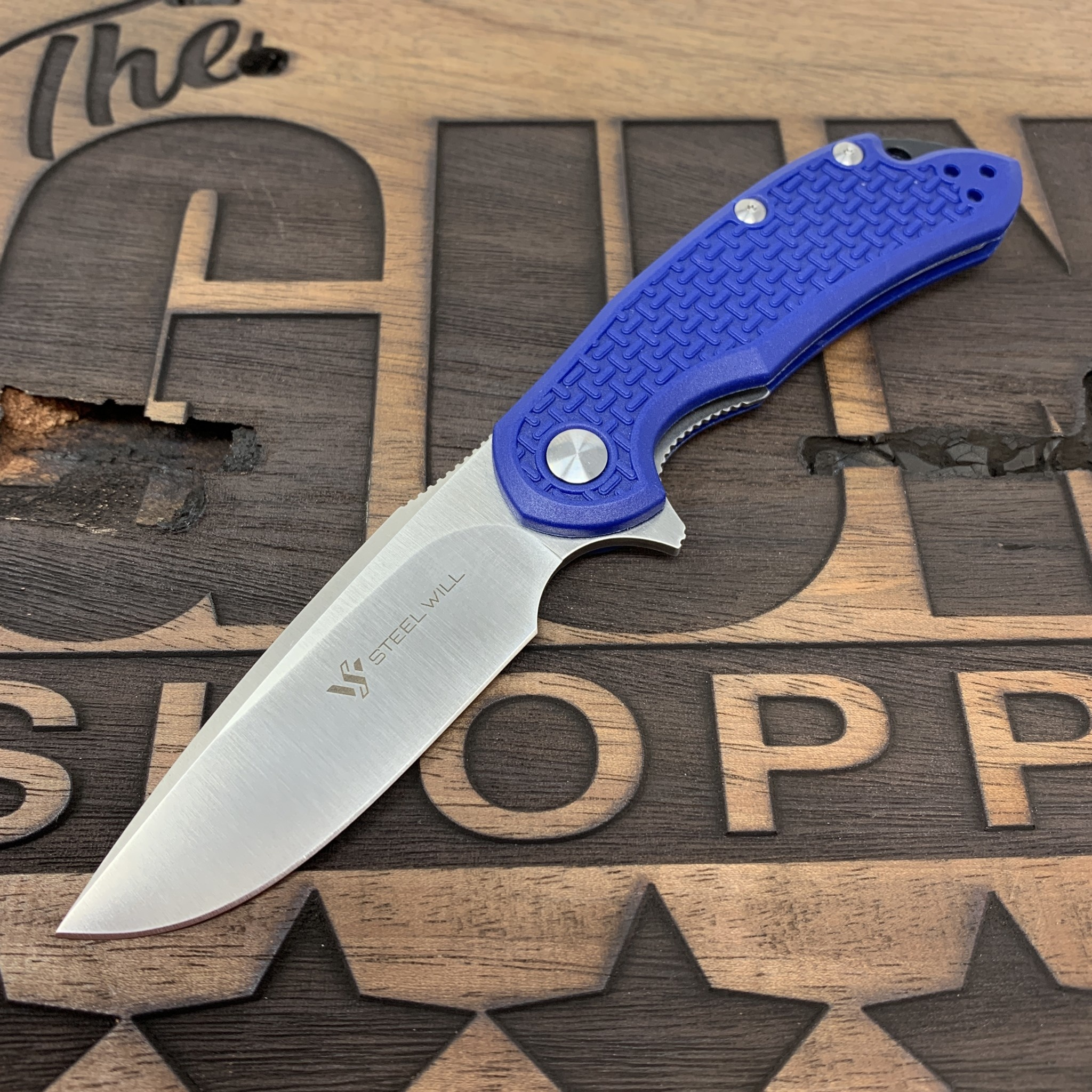 Steel Will Steel Will Knives Cutjack Mini Flipper Knife Blue