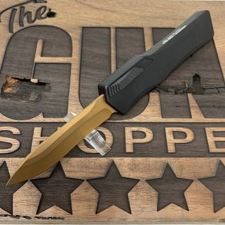 Heretic Knives Heretic Knives Cleric Bronze RECURVE BLACKED OUT