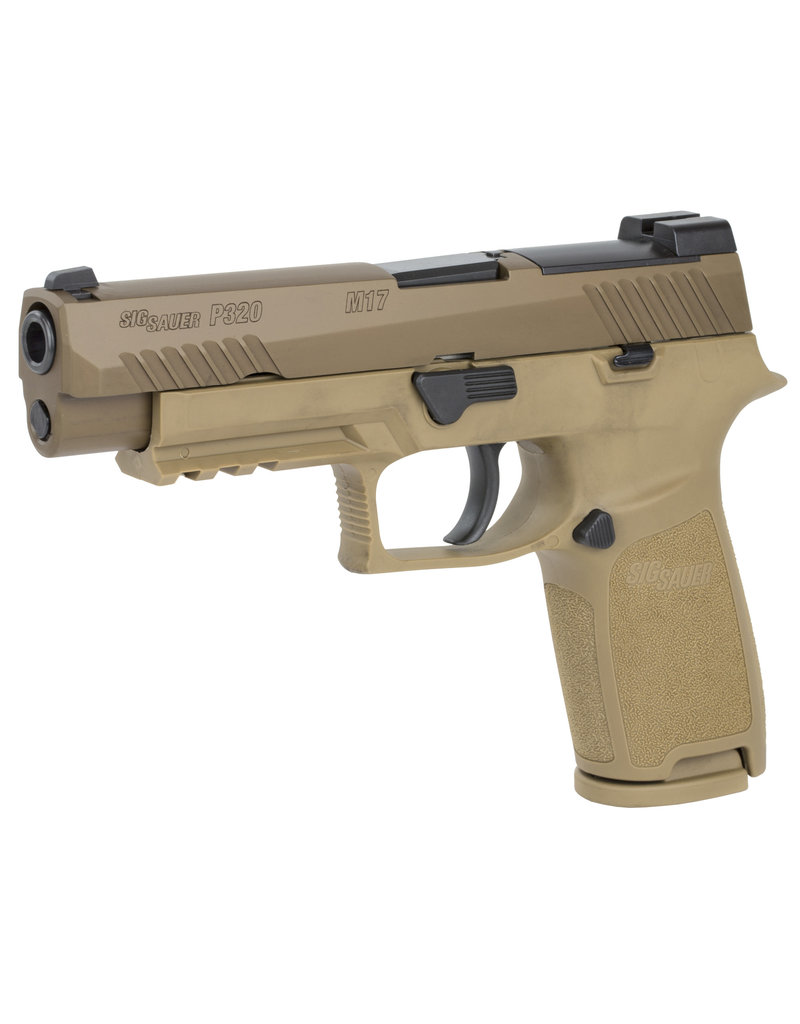 Sig Sauer SIG SAUER P320 M17 BRAVO 9MM FDE NO SAFETY