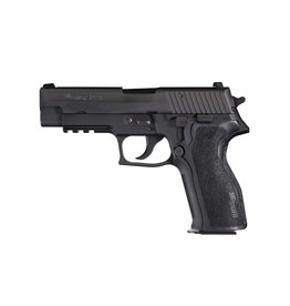 """Sig Sauer Sig Sauer P226 Semi-automatic Double Action Full 9MM 4.4"""" Alloy Blue Plastic 15Rd 1 Mag Tac Rail Decocker Fixed Night Sights"""