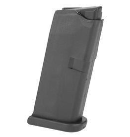 Glock GLOCK OEM 43 9MM 6RD Magazine w/Flat floor plate