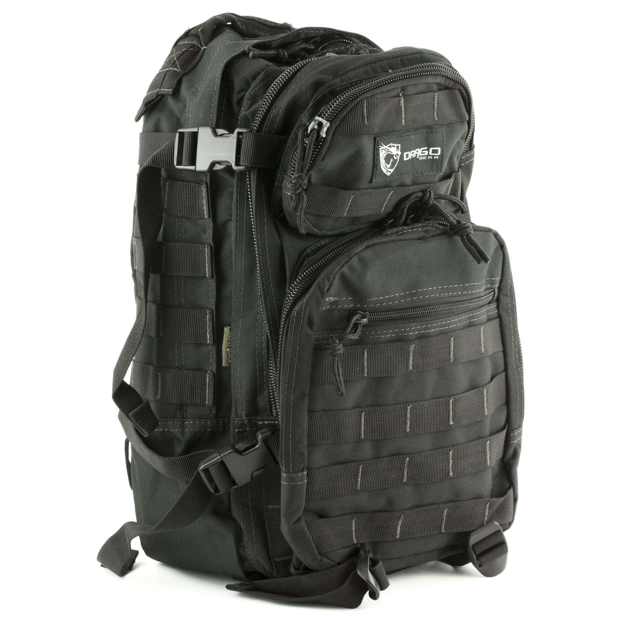 Drago Gear Drago Scout Backpack/Task Force Collection BLACK (#14-305BL)