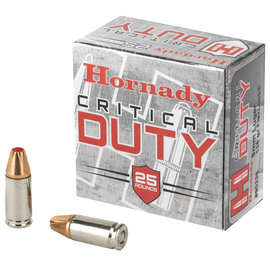 Hornady Hornady Critical Duty 9mm Flex Lock 135gr 25rnd
