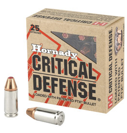 Hornady Hornady Critical Defense 9mm 115gr 25rnd FTX (#L84152)