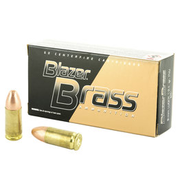 CCI CCI/Speer, Blazer Brass, 9MM, 124 Grain, Full Metal Jacket