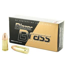 CCI Blazer Brass 9mm, 115gr, FMJ 50rnd