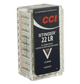 "CCI CCI ""STINGER"" 22LR HP 50/5000"