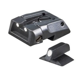 White Dot Adjustable Novak Style Sight Set