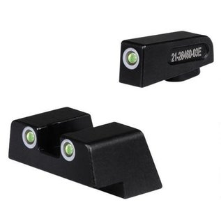 Dead Ringer Dead Ringer Snake Eyes Night Sights 42/43 Tritium Green