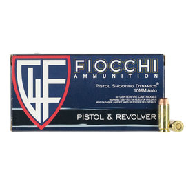 Fiocchi Ammunition Fiocchi 10mm 180 GR Full Metal Jacket 50 Bx