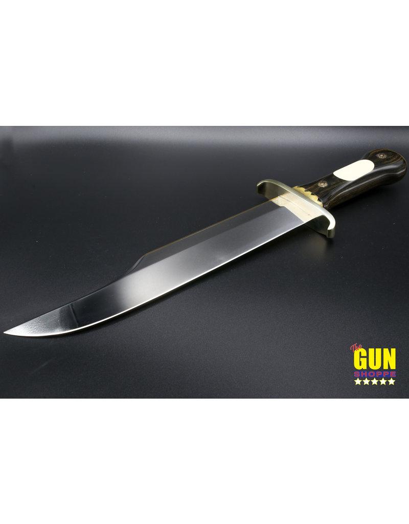 STEVE VOORHIS USED STEVE VOORHIS IRON MISTRESS CUSTOM FIXED BLADE BOWIE KNIFE MINT