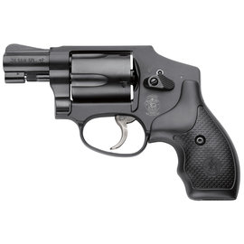 "Smith & Wesson Smith & Wesson 162810 442 Airweight Double 38 Special 1.875"" 5 rd Black Synthetic Grip Black"