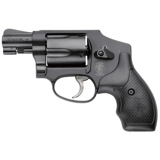 """Smith & Wesson Smith & Wesson 162810 442 Airweight Double 38 Special 1.875"""" 5 rd Black Synthetic Grip Black"""