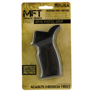 Mission First Tactical MFT ENGAGE AR15/M16 PSTL GRIP BLK