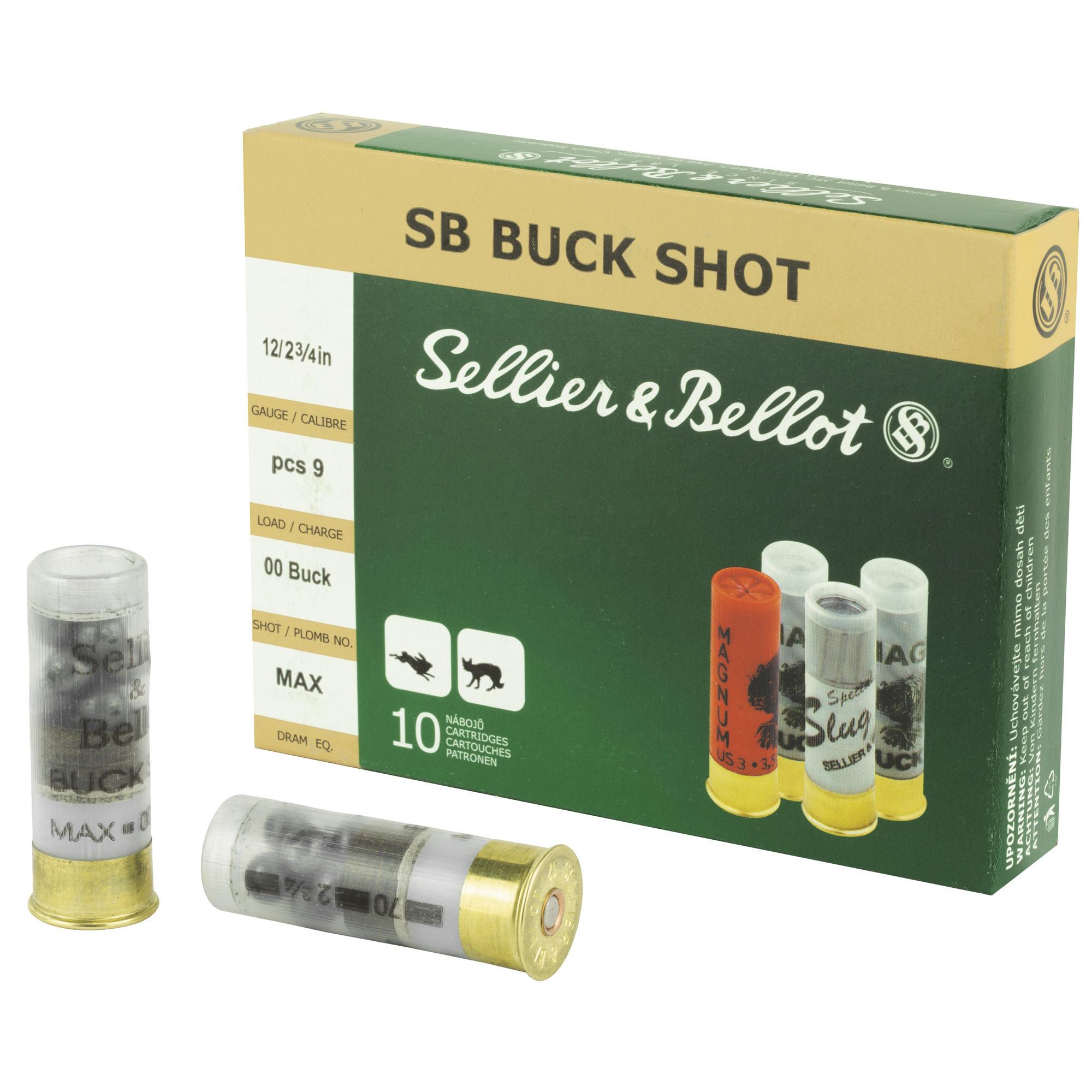 Sellier & Bellot Sellier & Bellot 12 Gauge 00 Buck