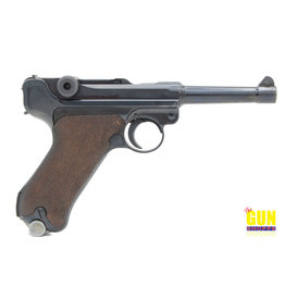 Mauser 1940 Dated Mauser Banner Luger eagle stamp