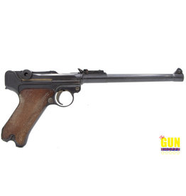 Erfurt 1914 Dated Crown-Erfurt Artillery Luger Semi-Automatic Pistol
