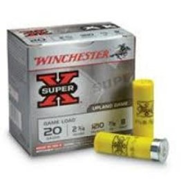 "Winchester 20 Gauge - 2-3/4"" 7/8 oz.Winchester Super-X Shot Game and Target Load - 25 Rounds"