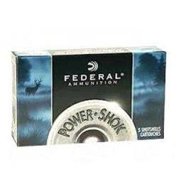 "Federal Federal PowerShok, 12 Gauge, 2.75"", 1oz., Rifled Hollow Point Slug, 5 Round Box"