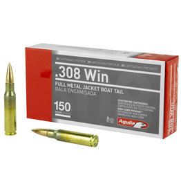 Aguila Ammunition Aguila 308 Win 150 Gr Full Metal Jacket 20 rd
