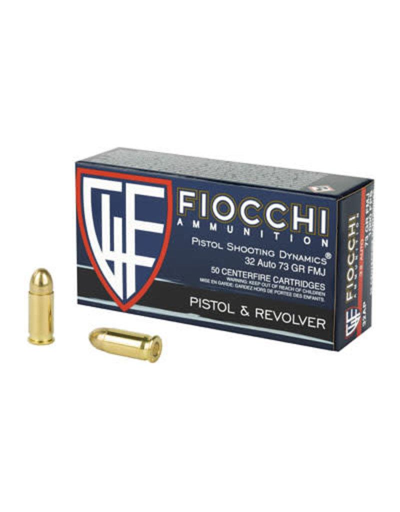 Fiocchi Ammunition Fiocchi 32ACP 73 Grain FMJ 50 Round Box
