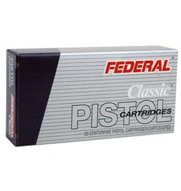Federal Ammo 9mm Luger Federal Classic 115 Grain JHP 50 Round Box