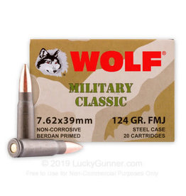 WOLF Wolf Military Classic 7.62 x 39 FMJ