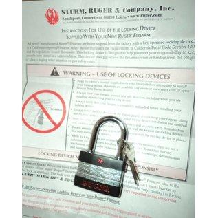 RUGER RUGER Pistol Locking Safety Device w2 Keys