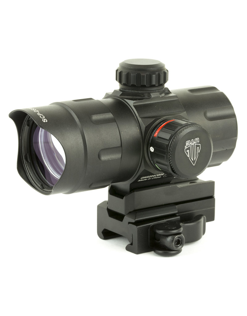 Leapers, Inc. - UTG UTG ITA Red/Green T-Dot with QD Mount