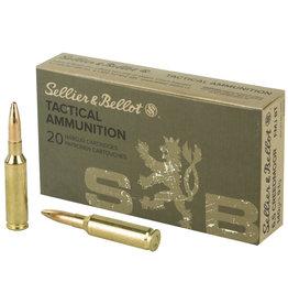 Sellier & Bellot Sellier & Bellot Rifle 6.5 Creedmoor 140 Gr fmj 20 rd