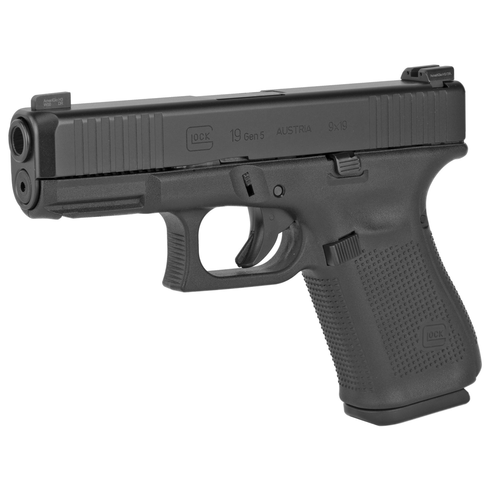 Glock Glock 19 Gen5 9mm Ameriglo BOLD