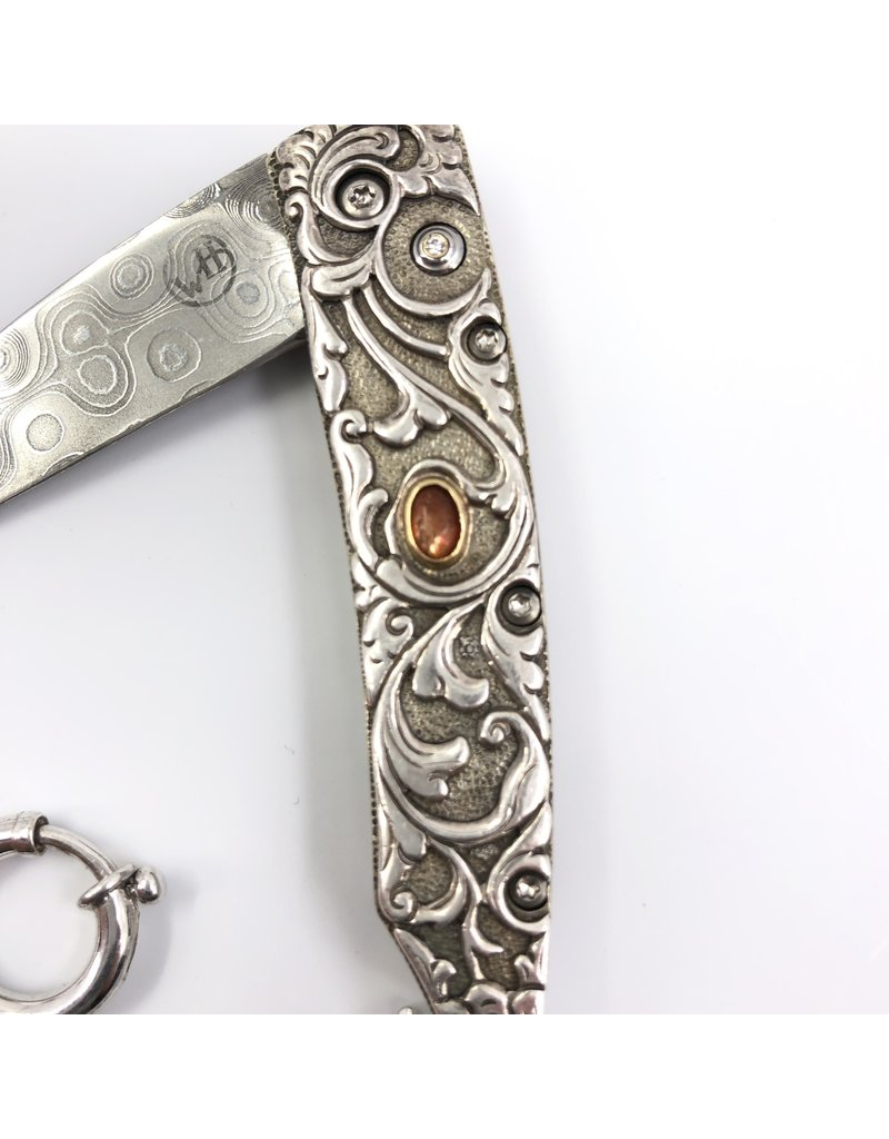 WILLIAM HENRY WILLIAM HENRY STERLING SILVER ENGRAVED