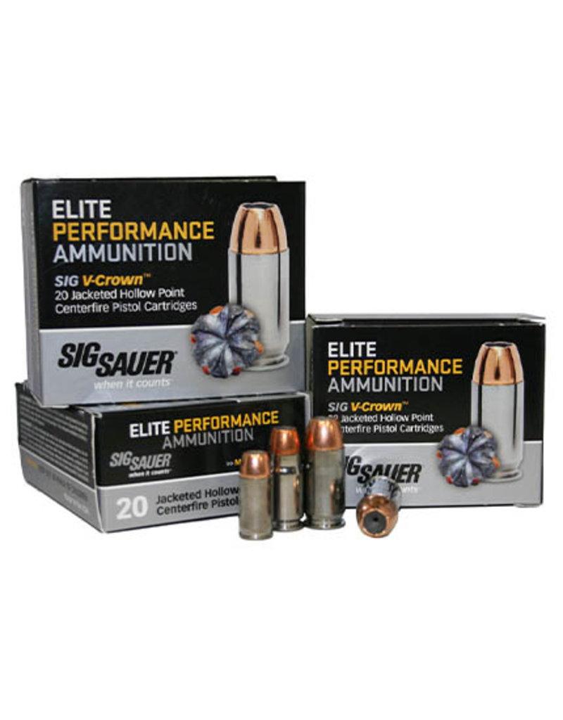 Sig Sauer SIG 9mm 147GR V-Crown