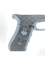Glock CUSOMT GLOCK 17/23 FRAME SKULLS