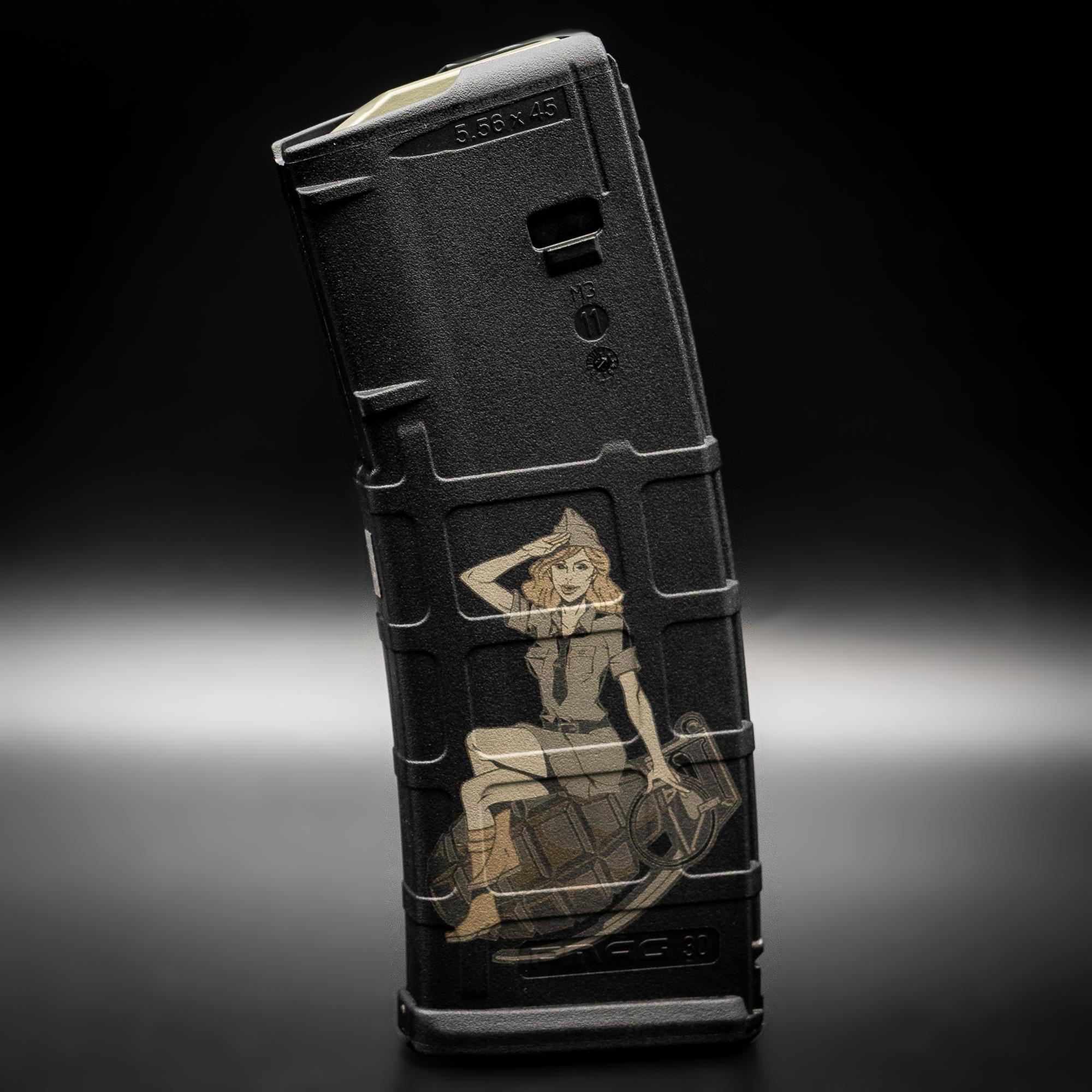 PMAG Custom Engraved 30RD PMAG for AR-15