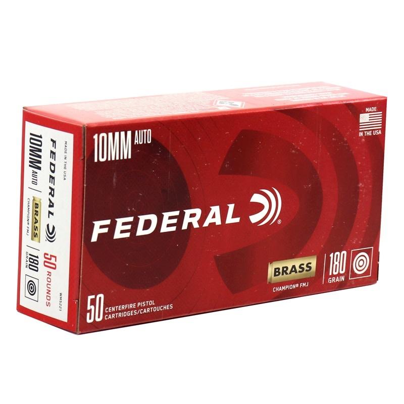 Federal Federal Champion 10mm Auto 180GR FMJ 50CT