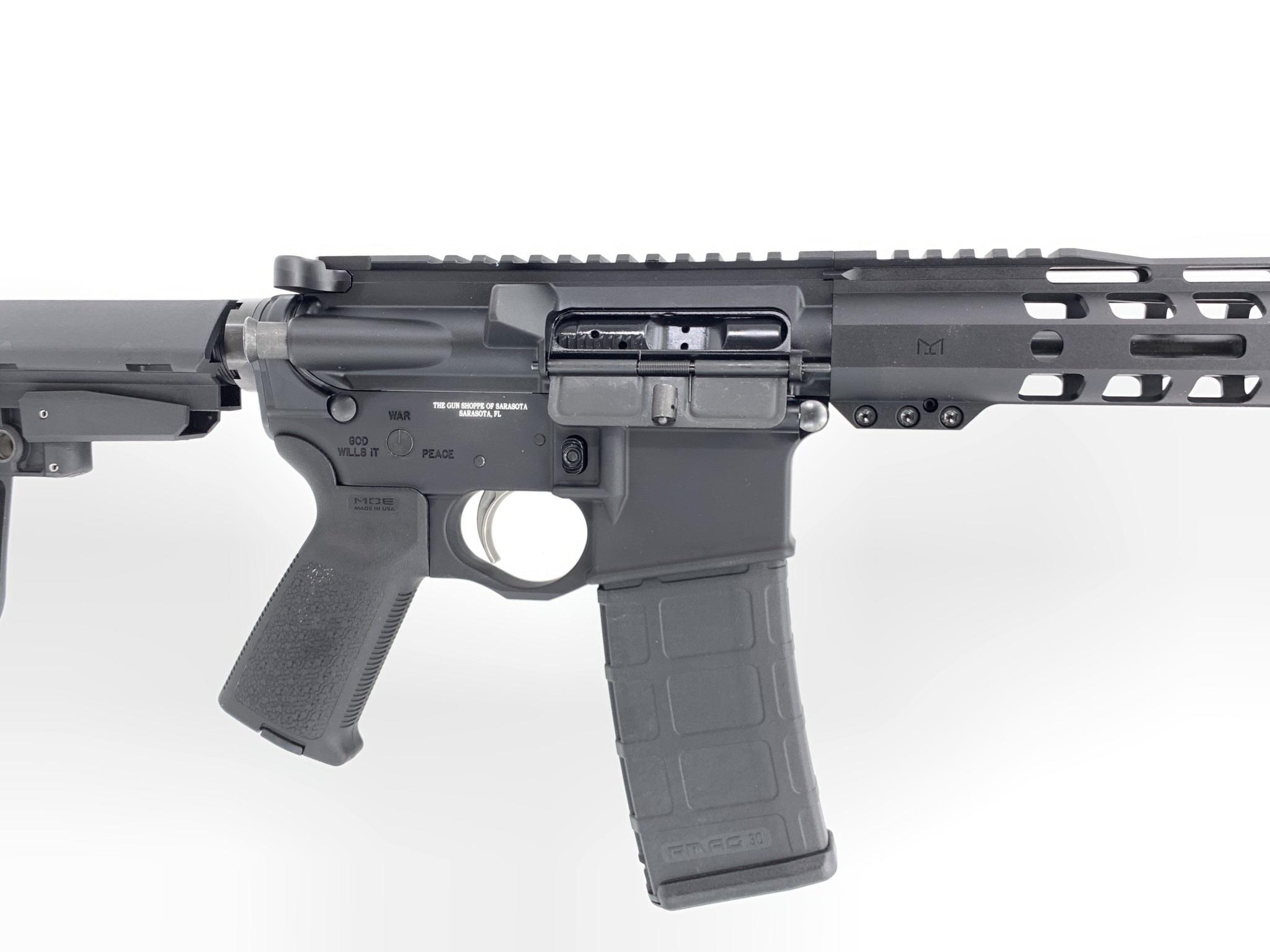 Spike's Tactical CUSTOM SPIKES AR15 PISTOL 5.56