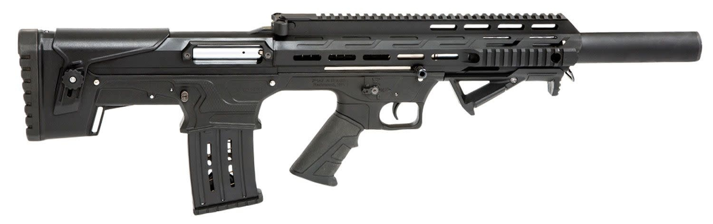 "Panzer Arms PANZER ARMS INC BP12 BLACK ANODIZED 12 GAUGE 20"" 3"" 5+1"