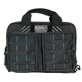 GPS GPS Tactical Quad Pistol Case Black