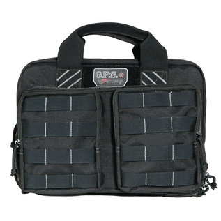 GPS GPS Tactical Quad Pistol Case Black