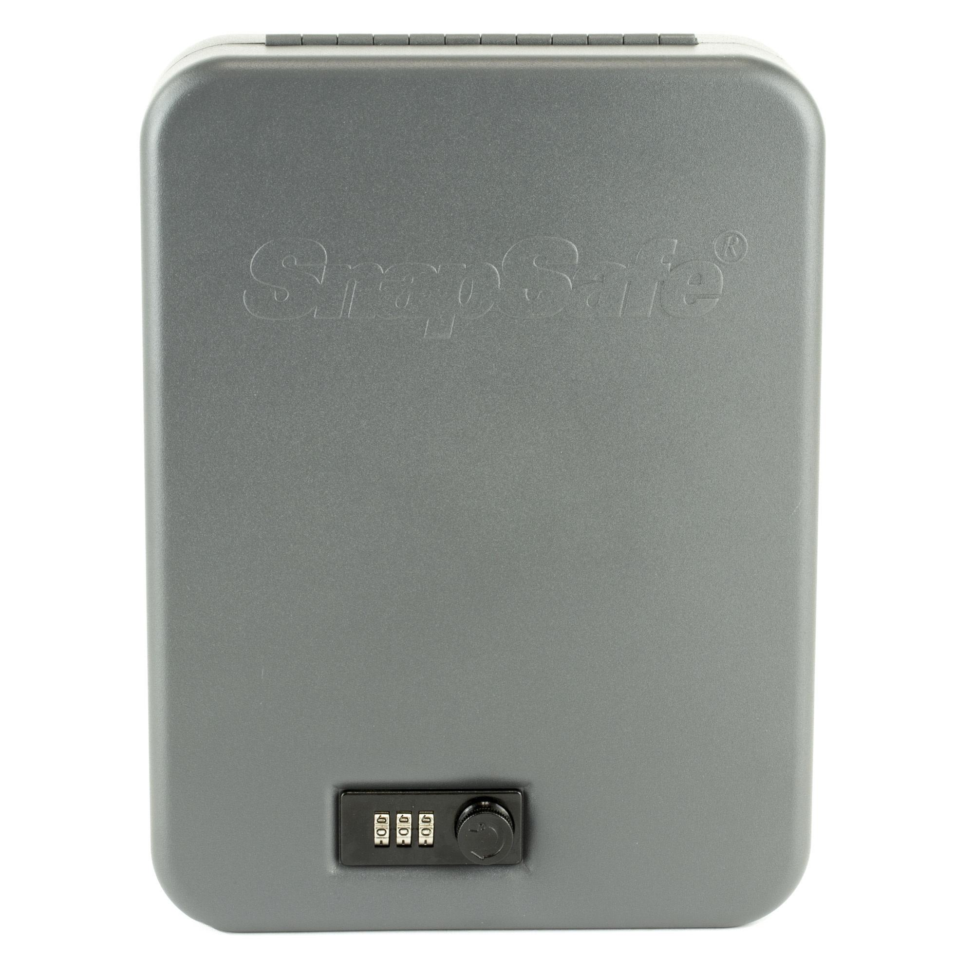 "Snap Safe SnapSafe XX-Large 11.5"" x 8.5"" x 2.5"" Combination Lock 16 Gauge Black Finish"