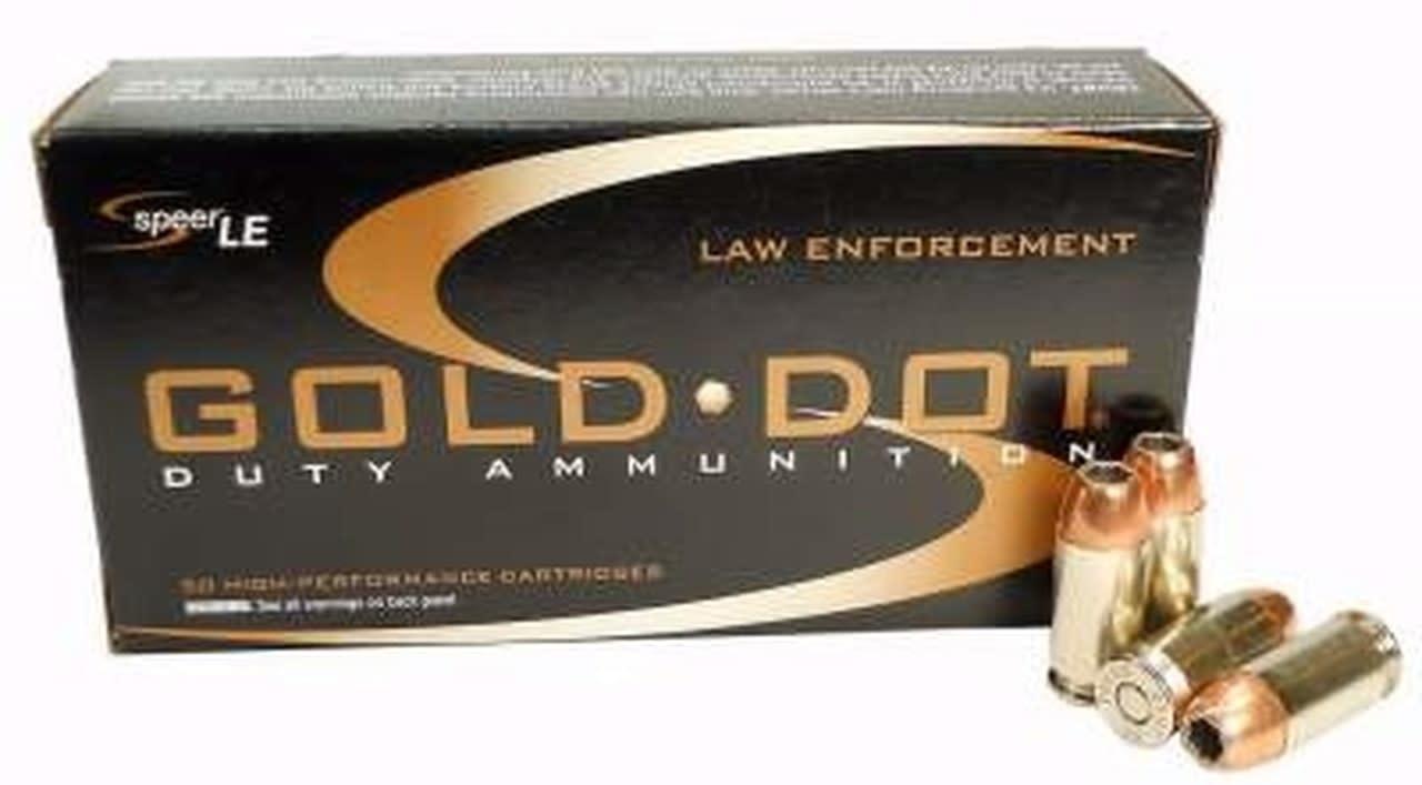 CCI SPEER GOLD DOT LE DUTY 45 ACP