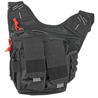 GPS G-Outdoors Inc. Rapid Deployment Shoulder Bag Black Soft Medium