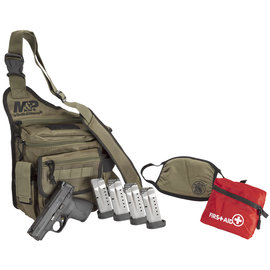 Smith & Wesson Smith & Wesson, M&P Shield 1.0 Bugout Bag Bundle,