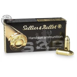 Sellier & Bellot Sellier & Bellot, Pistol, 9MM, 115Gr, Full Metal Jacket,