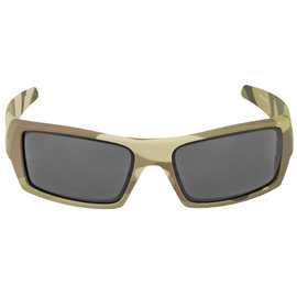 OAKLEY OAKLEY SI GASCAN MULTICAM FRAME SUNGLASSES WITH WARM GREY LENS