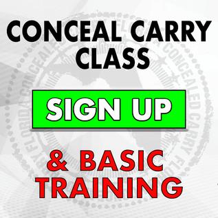 Basic Firearms Class & CWP Certification