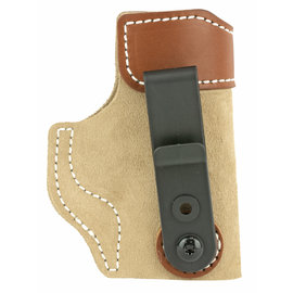 DESANTIS GUNHIDE DeSantis Gunhide, Sof-Tuck Inside The Pant Holster, Fits Sig P365, Right Hand, Tan Leather